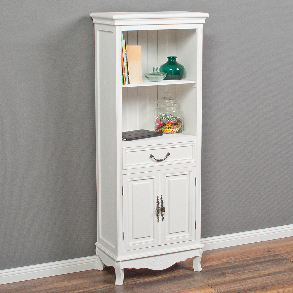 buffetschrank elegance im landhausstil wei 702. Black Bedroom Furniture Sets. Home Design Ideas